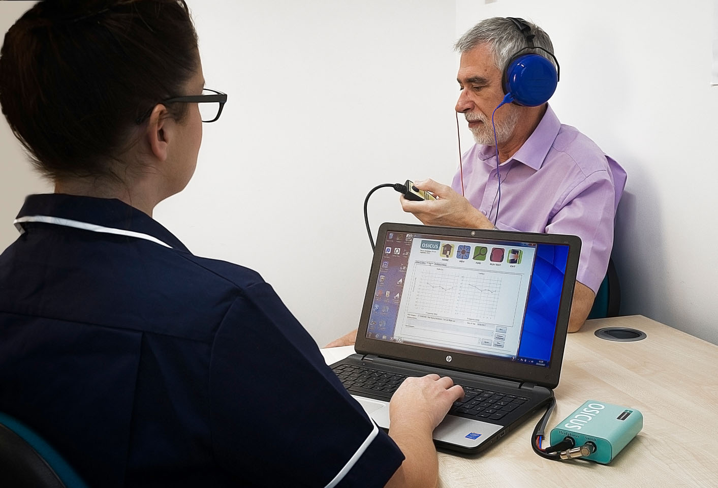 Using the Osicus Audiometer