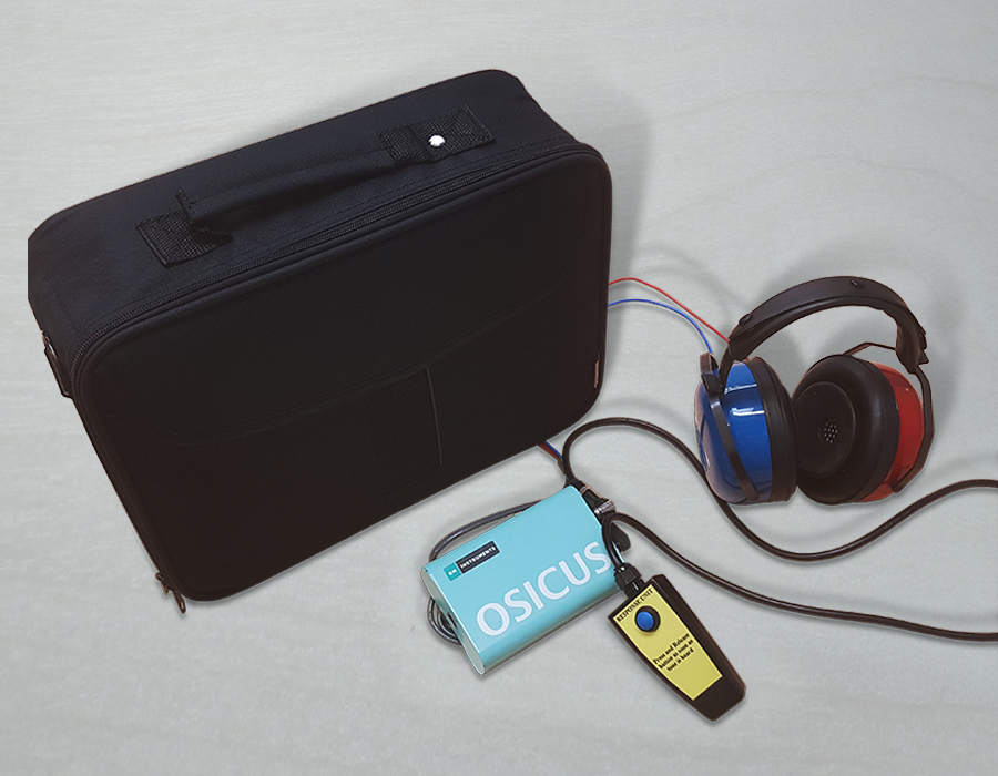 GM Osicus Solo Audiometer Package with Case
